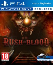 Прокат аренда Until Dawn: Rush of Blood